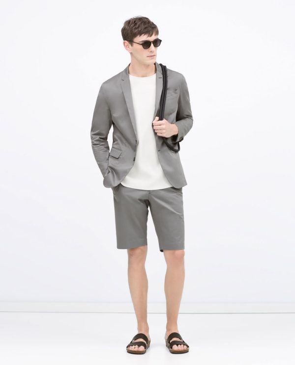 moda-trajes-hombre-verano-2015-traje-verano-bermudas-zara-gris