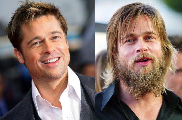 famosos-con-barba-2015-brad-pitt