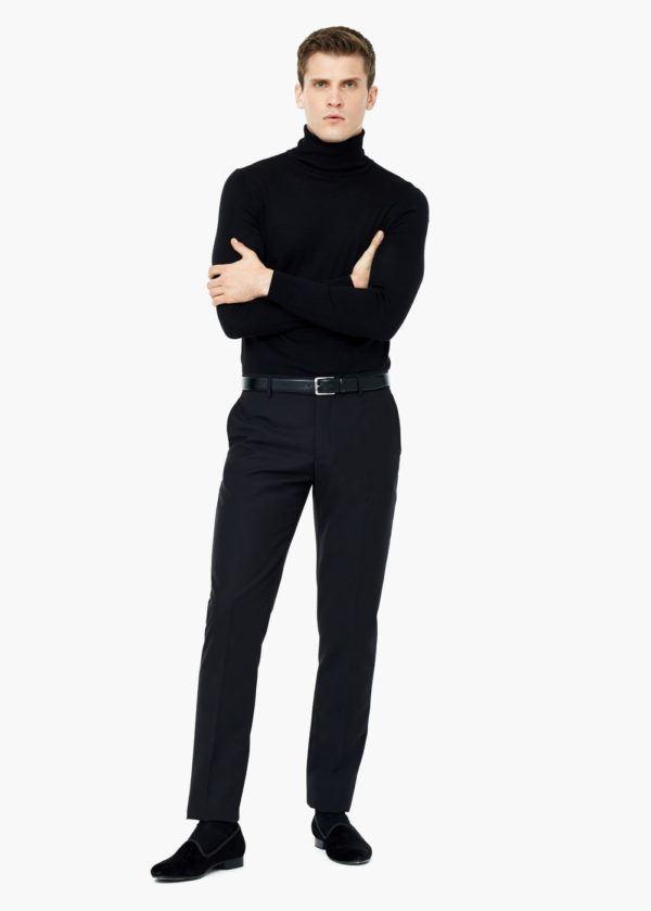 moda-hombre-navidad-2015-estilo-informal-jersey-negro-pantalon-negro