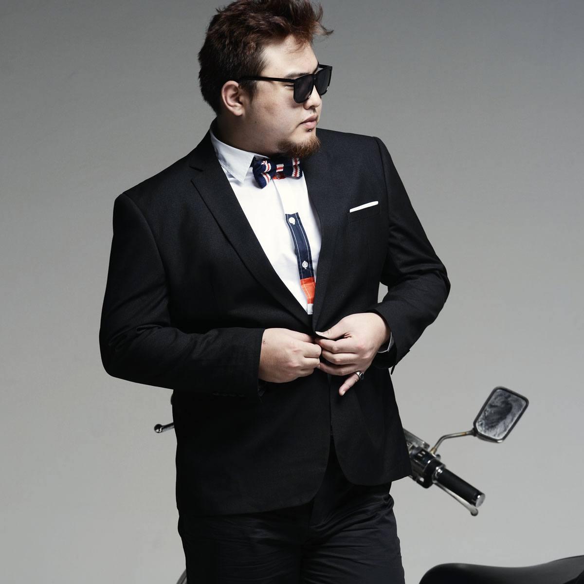 Ropa De Moda Para Gordos Gorditos Hombres Verano 2015 Blazer Modaellos Com