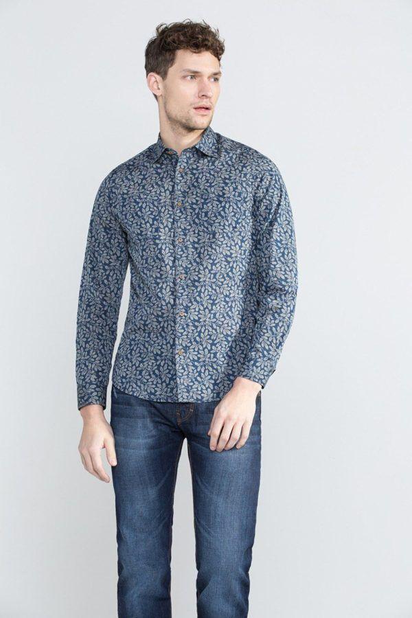 catalogo-cortefiel-2016-camisa-floral