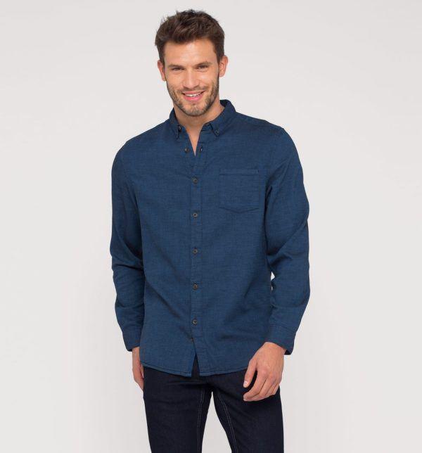 catalogo-cya-2016-ropa-camisa-angelo-litrico-algodon-azul-oscuro