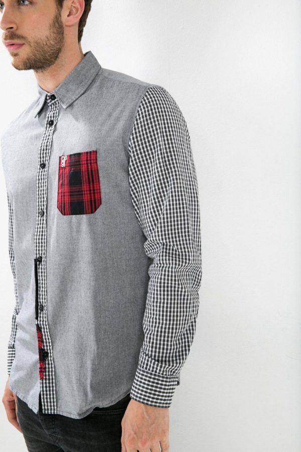 catalogo-desigual-2016-camisa-basica-gris-cuadros