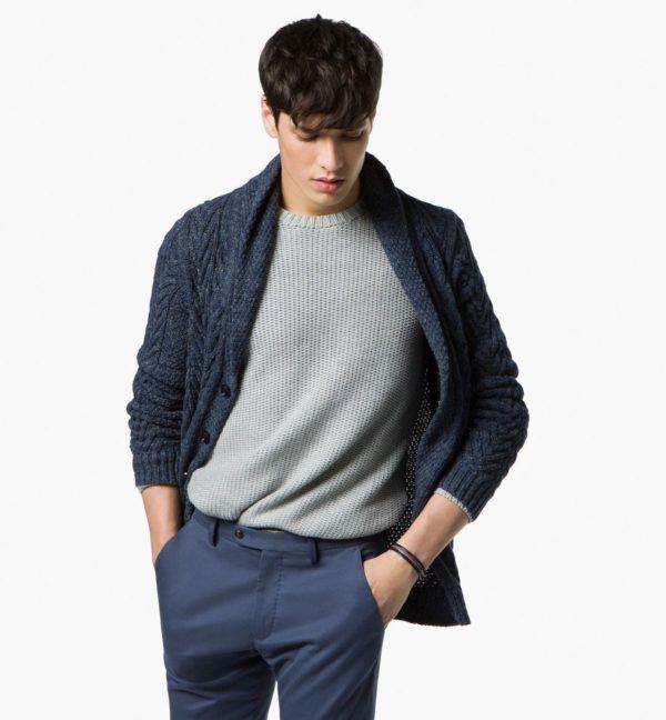 catalogo-massimo-dutti-2015-tendencias-moda-hombre-chaqueta-de-punto