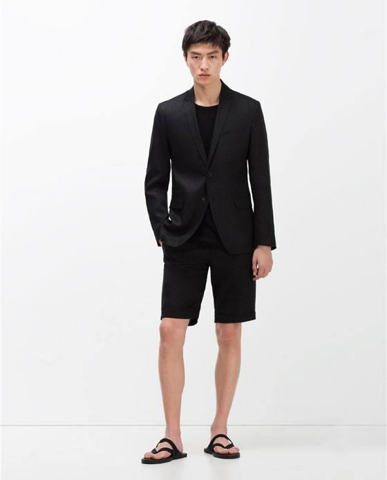 trajes-Zara-Primavera-Verano-trajes-bermudas-lino-negro