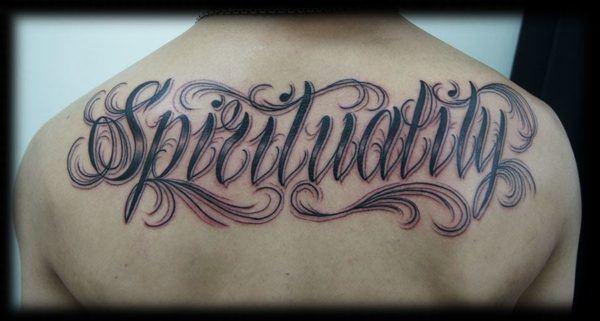 Los Mejores Tattoos De Letras Para Chico Modaellos Com