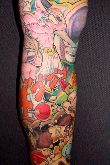 Los Mejores Tatuajes De Dragon Ball Z Personajes Modaellos Com