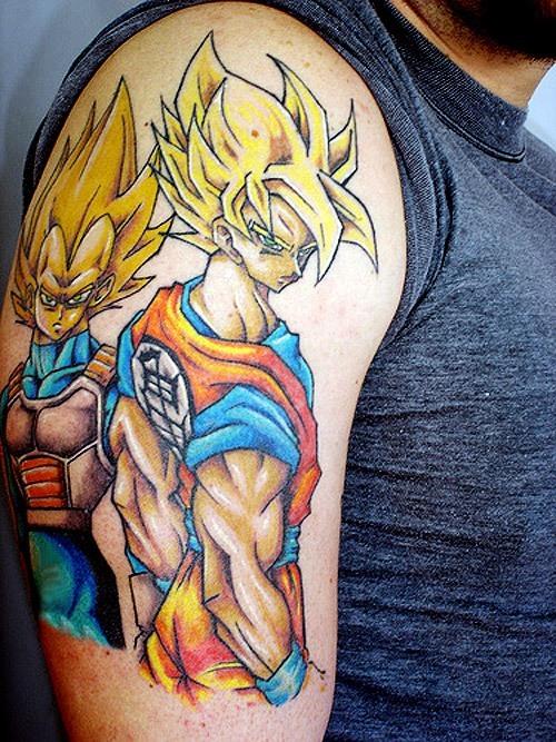 los-mejores-tatuajes-de-dragon-ball-z-vegeta
