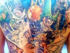 Los mejores tatuajes de Dragon Ball Z