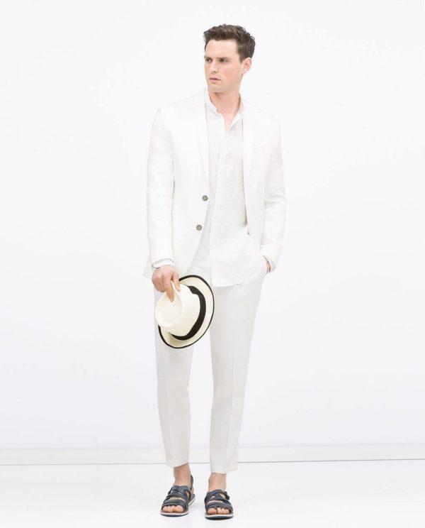 como-combinar-bien-el-blanco-blazer-de-lino-de-zara