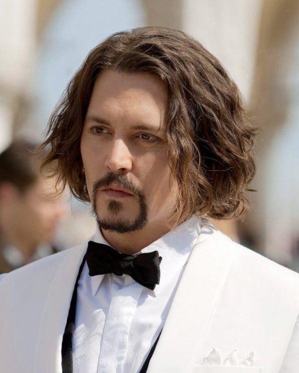 Cortes para cabello chino largo hombres