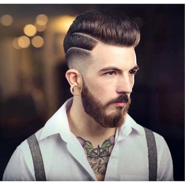 cortes de pelo y peinados para hombres cabello corto estilo hipster