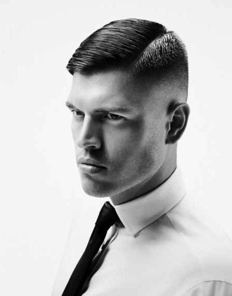 Hombres con estilo cortes de cabello y peinados para - Peinados modernos de hombres ...