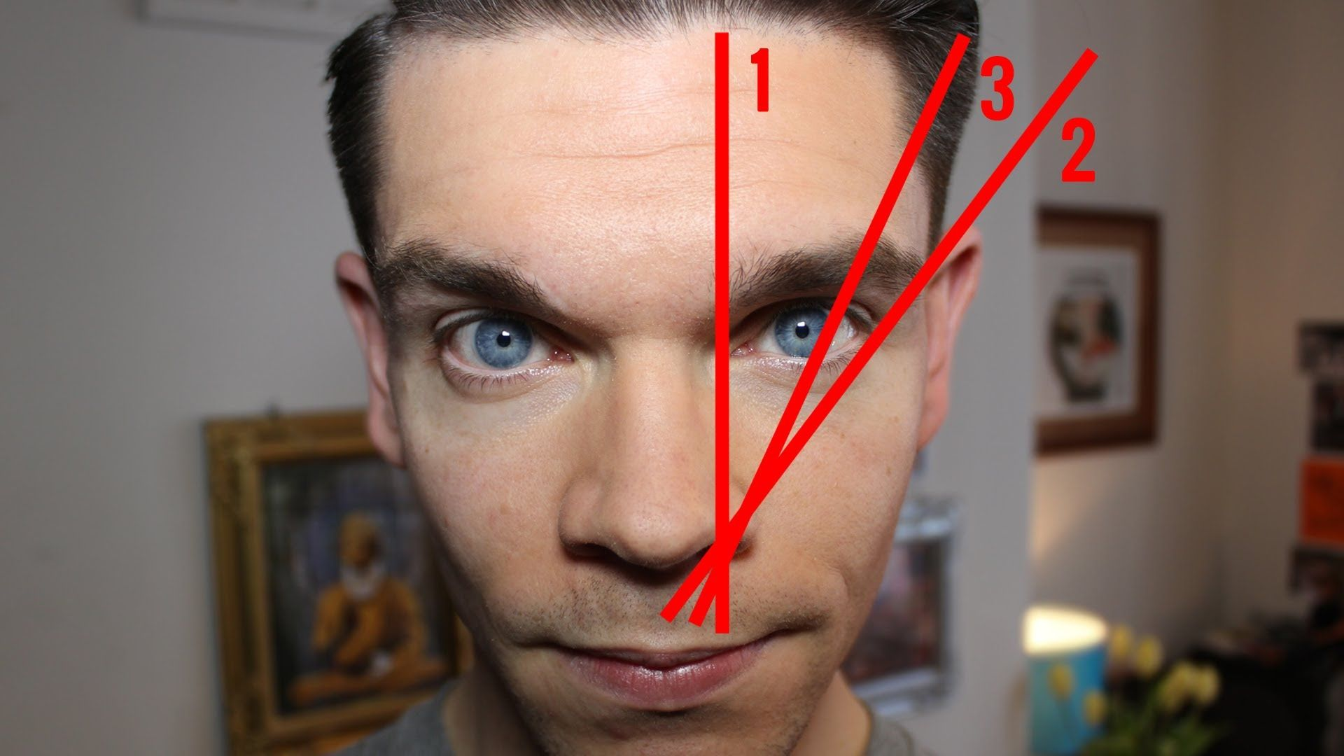 Cejas De Hombre cómo depilar las cejas de hombre según el tipo de cara