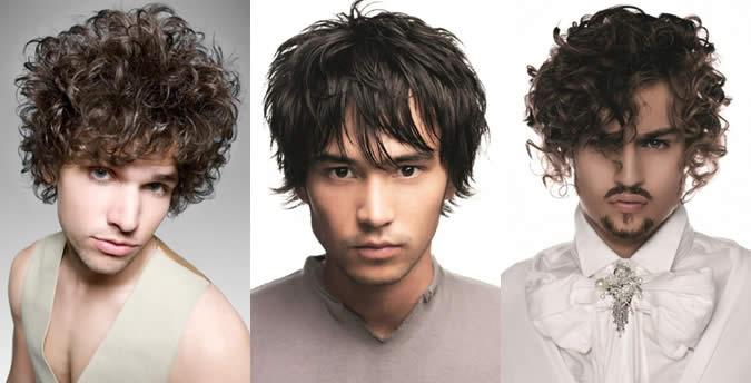 Peinados hombres rostro redondo
