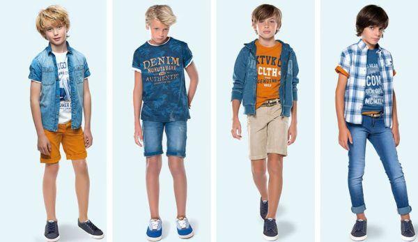 mayoral-rebajas-de-verano-ninos-y-ninas-2015-moda-niño-estilo-denim-a-partir-de-8 años