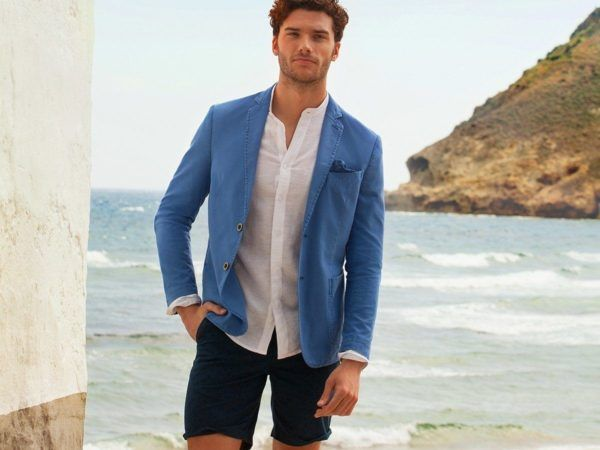 rebajas-sfera-de-verano-para-hombre-2015-PROPUESTAS-blazer-azul