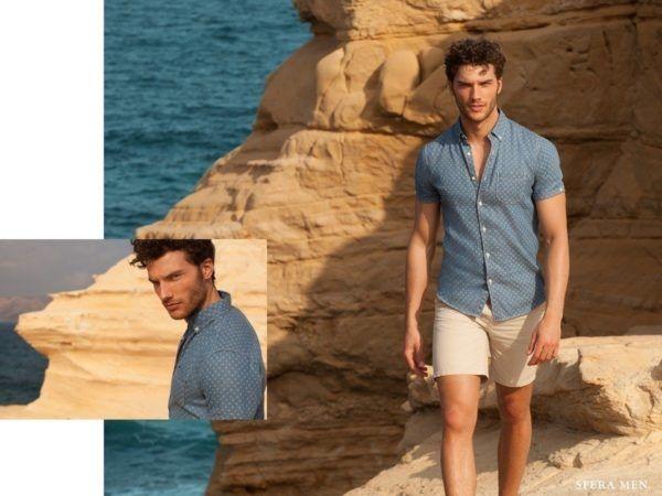 rebajas-sfera-de-verano-para-hombre-2015-PROPUESTAS-camisa-estampada