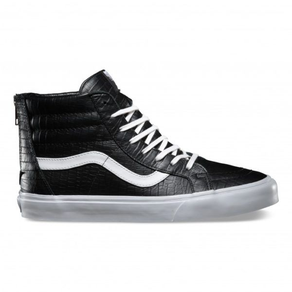 bota vans negra