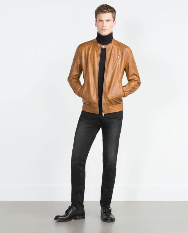 como-combinar-bien-los-colores-de-ropa-otoño-invierno-2015-2016-cazadora-piel-marron-zara