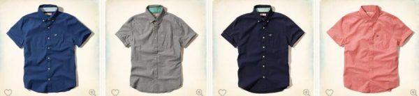 rebajas-hollister-verano-2015-camisas-de-popelina-de-colores