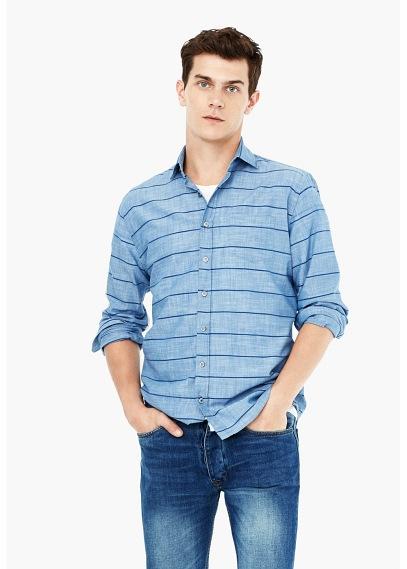 moda-camisas-hombre-otono-invierno-tendencias-camisa-de-rayas-de-mango