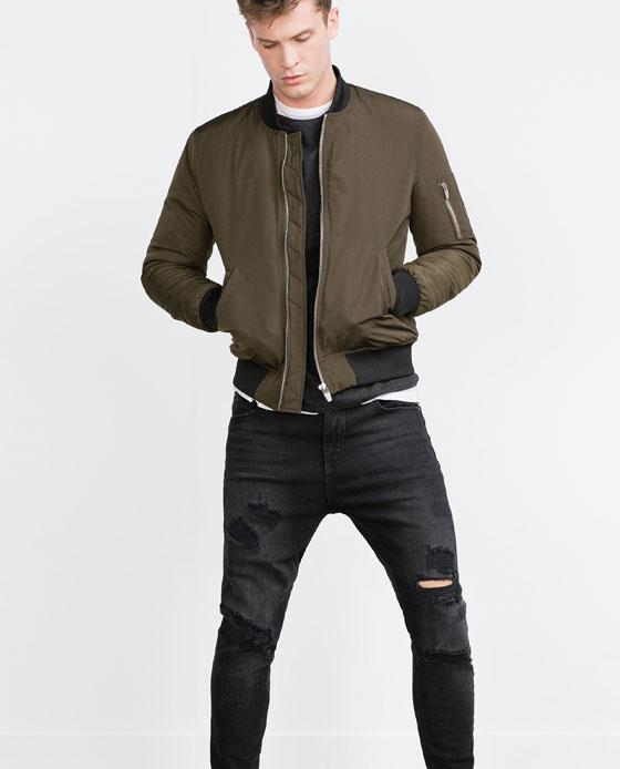 Catalogul Zara pentru bărbați, toamna/iarna 2015-2016