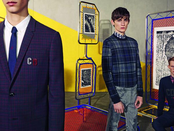 Catálogo Christian Dior hombre otoño invierno 2015-2016-blazer-cuadros-jersey-cuadros