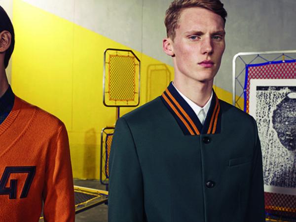 Catálogo Christian Dior hombre otoño invierno 2015-2016-cazadora-bomber-oscura-naranja
