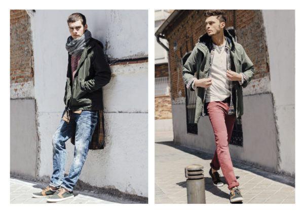 Catálogo Springfield hombre otoño invierno 2015-2016-chaqueta-verde-tejanos