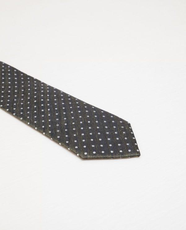 complementos-hombre-otono-invierno-2016-corbata-espiga-topos