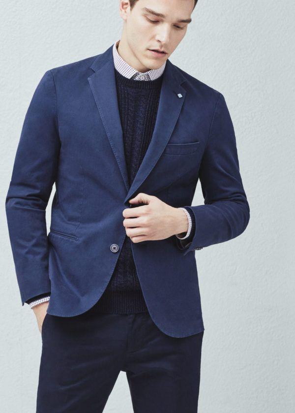 moda-americanas-blazers-hombre-otono-invierno-2016-slim-fit-algodon
