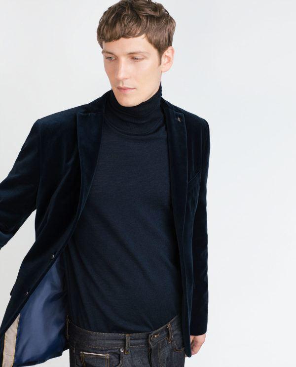moda-americanas-blazers-hombre-otono-invierno-2016-terciopelo-azul