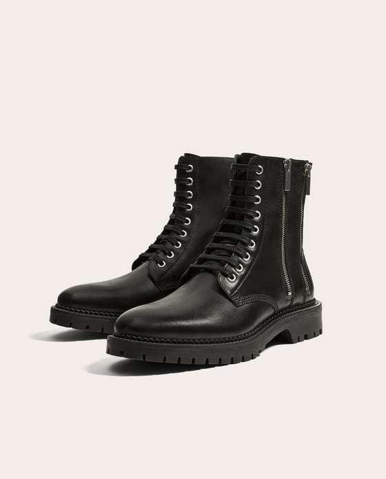 Invierno 2019 Zara Hombre Qbzw1b Zapatos YYaRwq