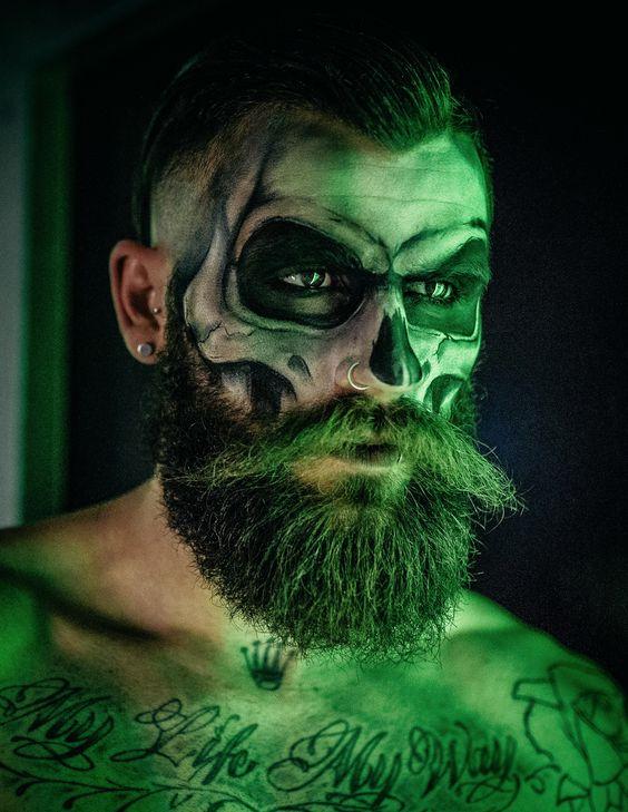 maquillaje-halloween-con-barba