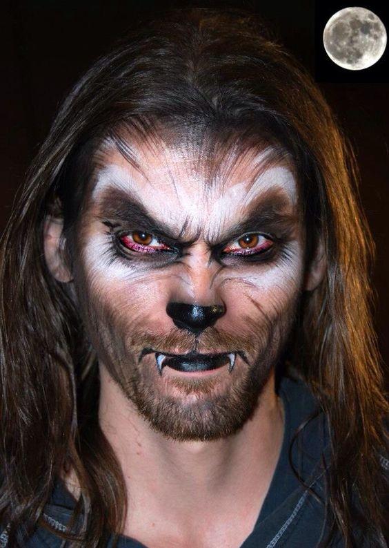 maquillaje-halloween-hombre-lobo-cara