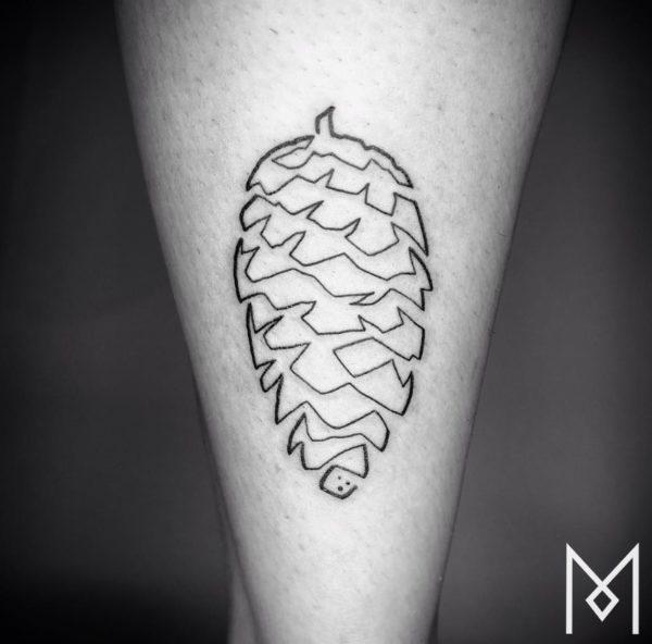 tatuajes-hechos-con-una-sola-linea-continua-bellota