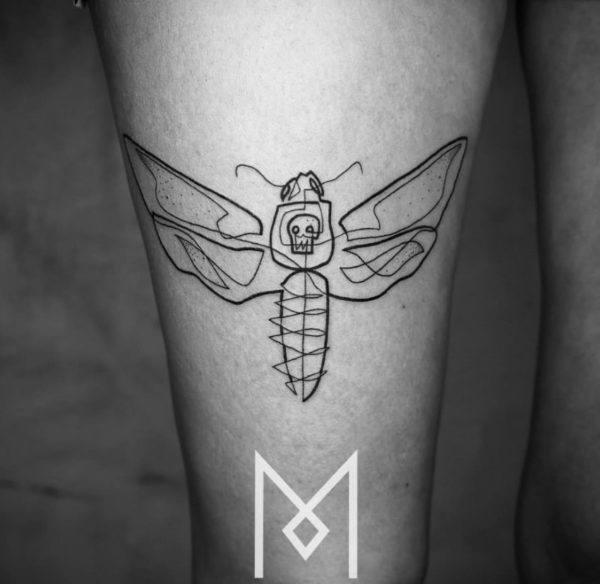 tatuajes-hechos-con-una-sola-linea-continua-insecto