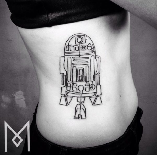 tatuajes-hechos-con-una-sola-linea-continua-r2-d2