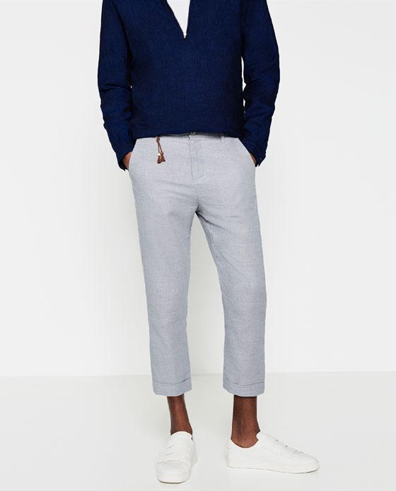 Pantanones De Vestir Para Hombre Zara