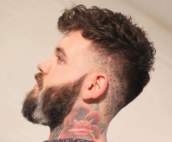 Cortes modernos para hombre con cabello ondulado