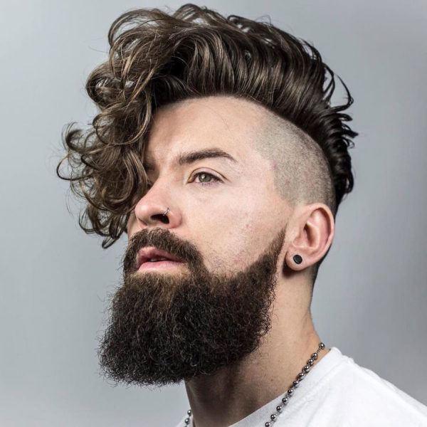 Cortes de cabello para ondulado hombres