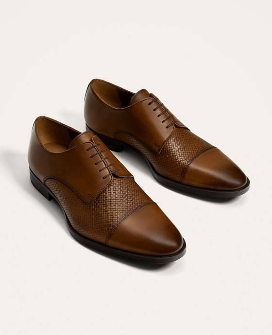 Zapatos marrones de otoño para hombre qH05hfS