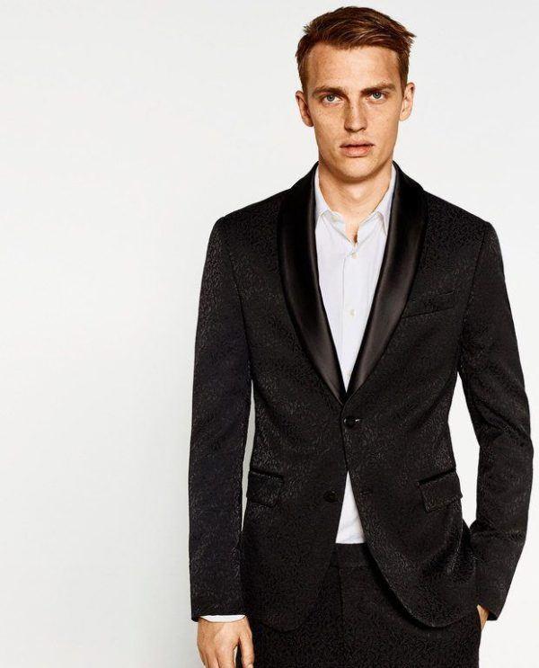 moda-hombre-navidad-2016-zara-blazer-jacquard
