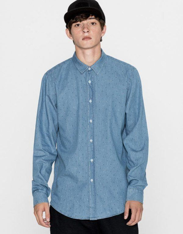pull-and-bear-hombre-camisa-azul