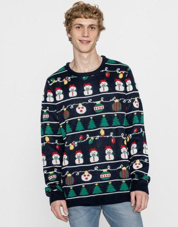 pull-and-bear-hombre-jersey-muneco-de-nieve