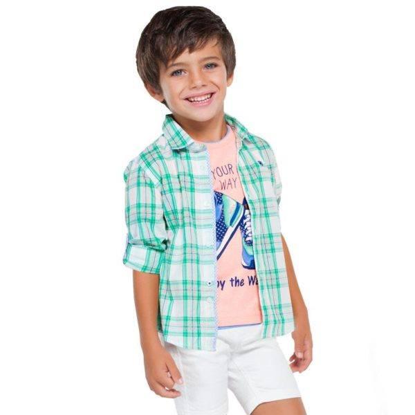 mayoral-rebajas-de-verano-para-ninos-y-ninas-2016-camisas-cuadros-bermudas