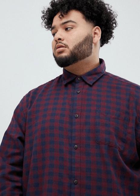 Camisas Camisa de cuadros de algodón puro Kiabi