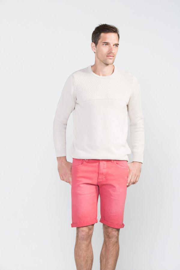 catalogo-cortefiel-2016-tendencias-hombre-pantalon-bermuda-slim-rosa