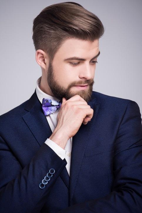 Peinado de novio para boda